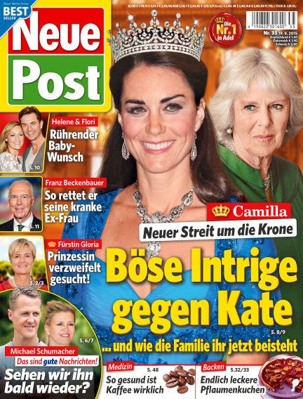 Neue Post August 19, 2015 00:00