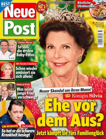 Neue Post September 02, 2015 00:00