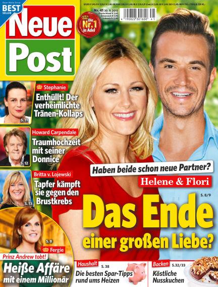 Neue Post September 30, 2015 00:00