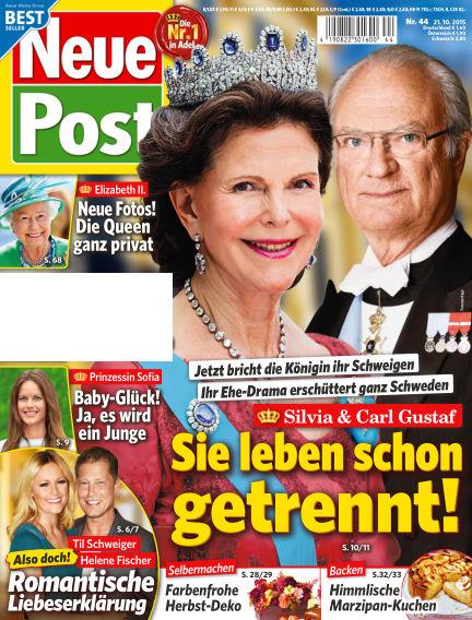 Neue Post October 21, 2015 00:00