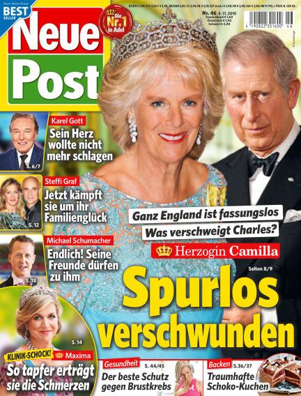 Neue Post November 04, 2015 00:00