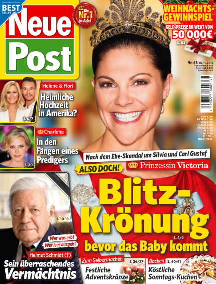 Neue Post November 18, 2015 00:00