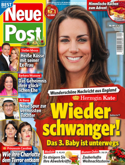 Neue Post November 25, 2015 00:00