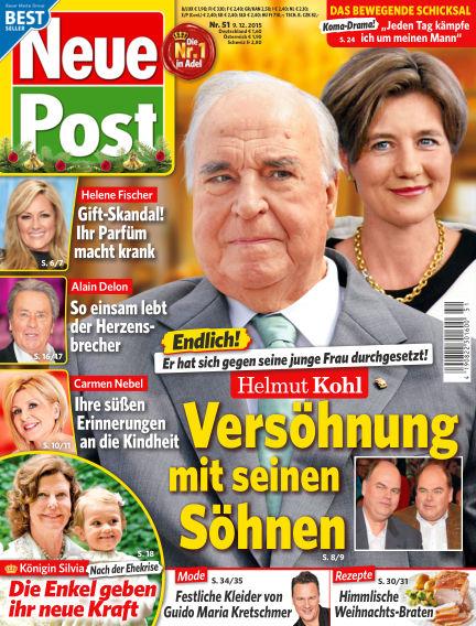 Neue Post December 09, 2015 00:00