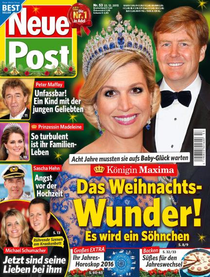 Neue Post December 22, 2015 00:00