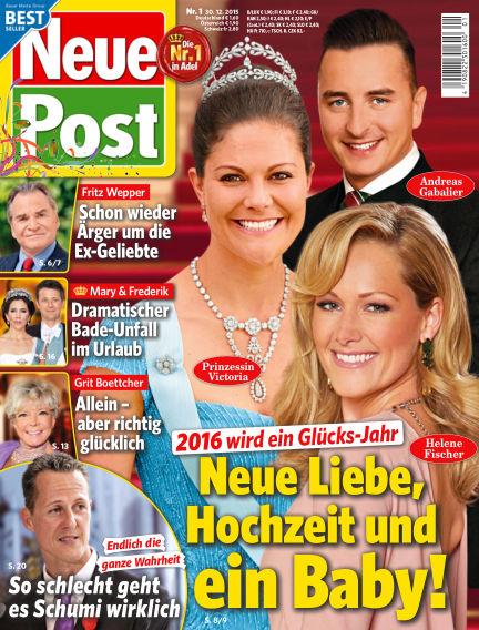 Neue Post December 30, 2015 00:00