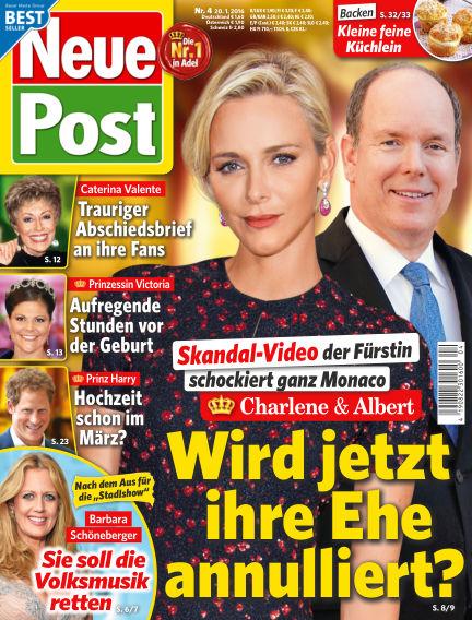 Neue Post January 20, 2016 00:00