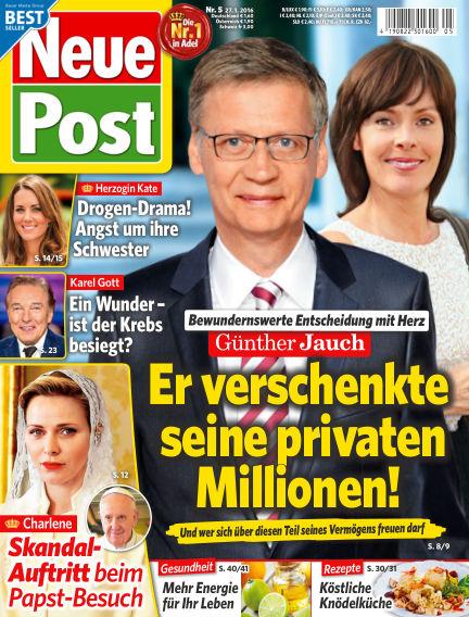 Neue Post January 27, 2016 00:00