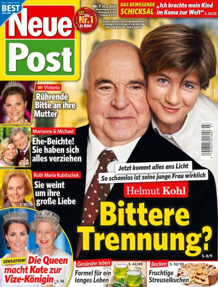 Neue Post February 10, 2016 00:00