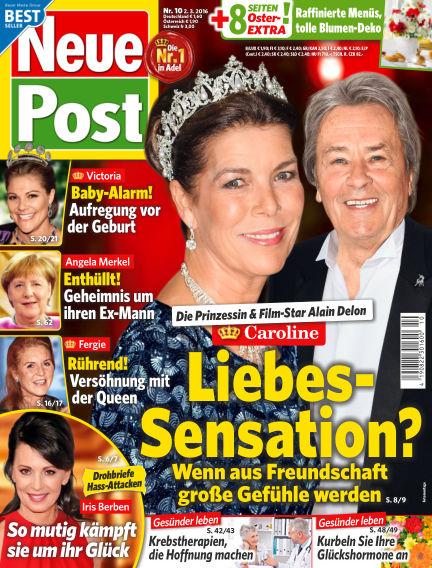 Neue Post March 02, 2016 00:00