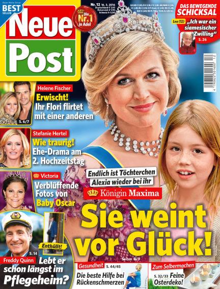 Neue Post March 16, 2016 00:00