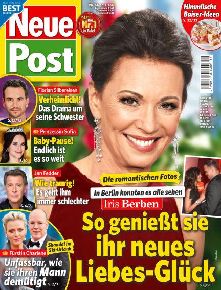 Neue Post March 30, 2016 00:00