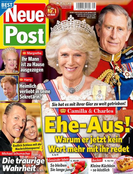 Neue Post May 18, 2016 00:00