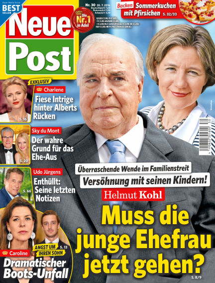 Neue Post July 20, 2016 00:00