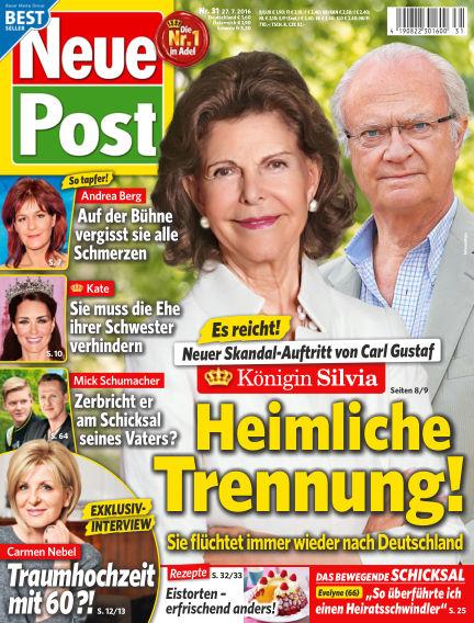 Neue Post July 27, 2016 00:00