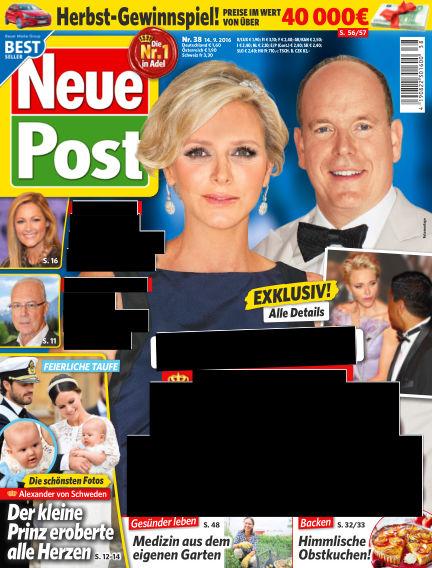Neue Post September 14, 2016 00:00