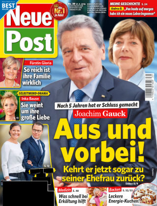 Neue Post NR.39 2016