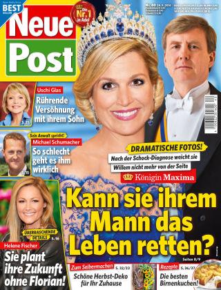 Neue Post NR.40 2016