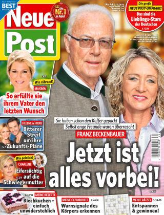 Neue Post NR.45 2016