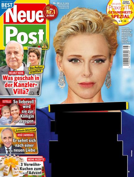 Neue Post November 23, 2016 00:00