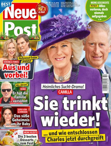 Neue Post December 14, 2016 00:00