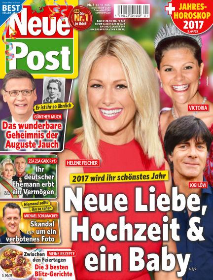 Neue Post December 28, 2016 00:00