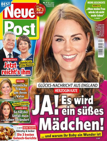 Neue Post January 18, 2017 00:00