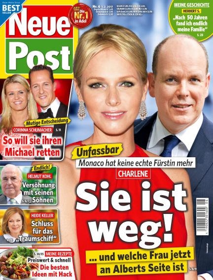 Neue Post February 01, 2017 00:00
