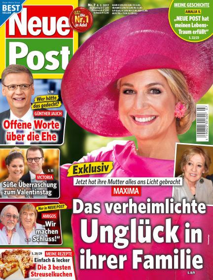 Neue Post February 08, 2017 00:00