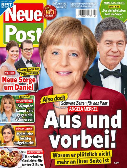 Neue Post February 22, 2017 00:00