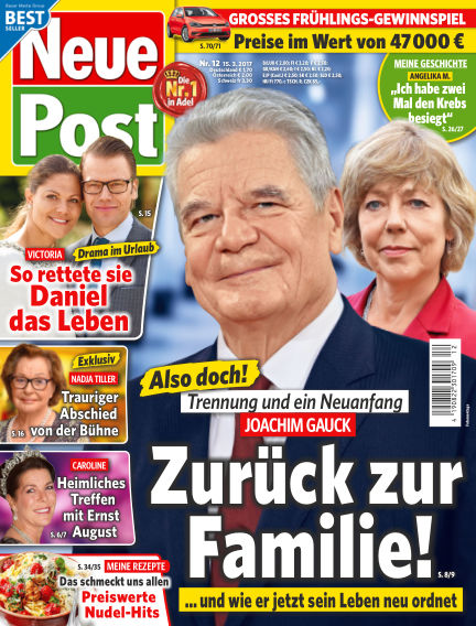 Neue Post March 15, 2017 00:00