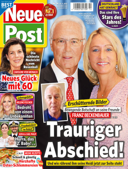 Neue Post March 29, 2017 00:00