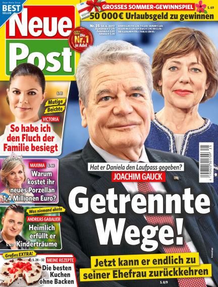 Neue Post June 14, 2017 00:00