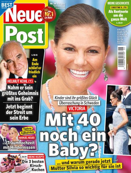 Neue Post June 21, 2017 00:00