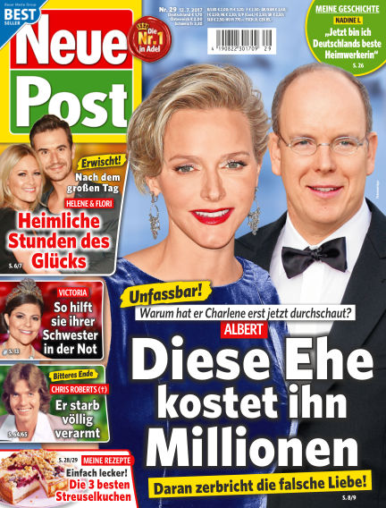 Neue Post July 12, 2017 00:00