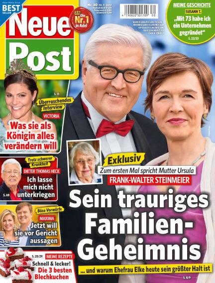 Neue Post July 19, 2017 00:00
