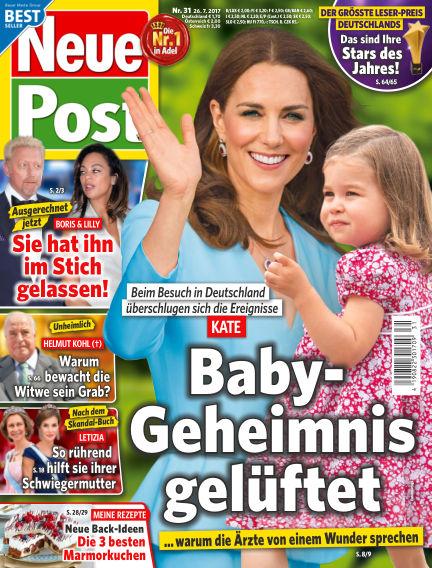 Neue Post July 26, 2017 00:00