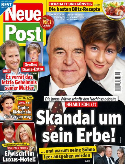 Neue Post August 30, 2017 00:00