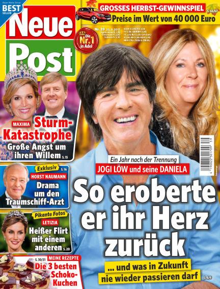 Neue Post September 20, 2017 00:00