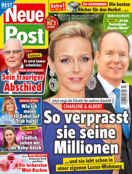 Neue Post October 18, 2017 00:00
