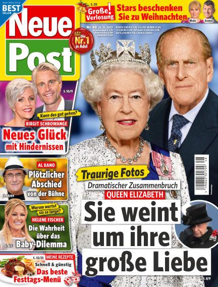Neue Post November 22, 2017 00:00