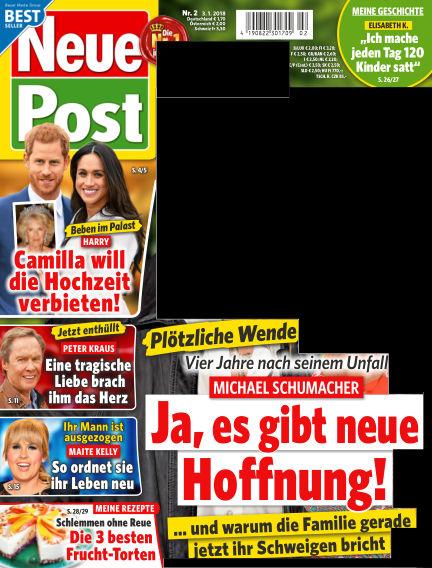 Neue Post January 03, 2018 00:00