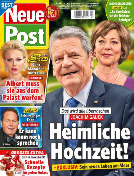 Neue Post January 17, 2018 00:00