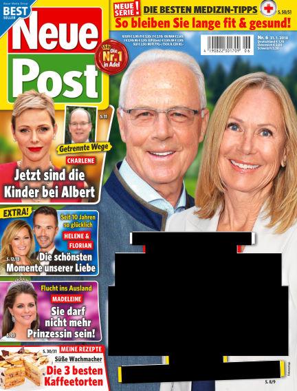 Neue Post January 31, 2018 00:00