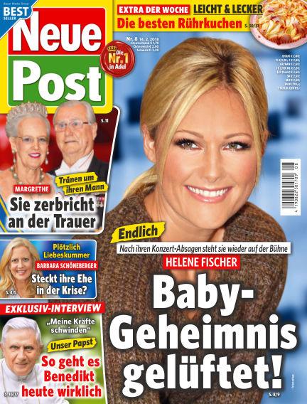 Neue Post February 14, 2018 00:00