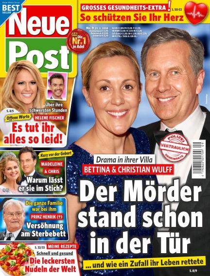 Neue Post February 21, 2018 00:00