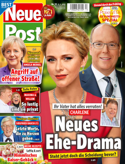 Neue Post March 21, 2018 00:00