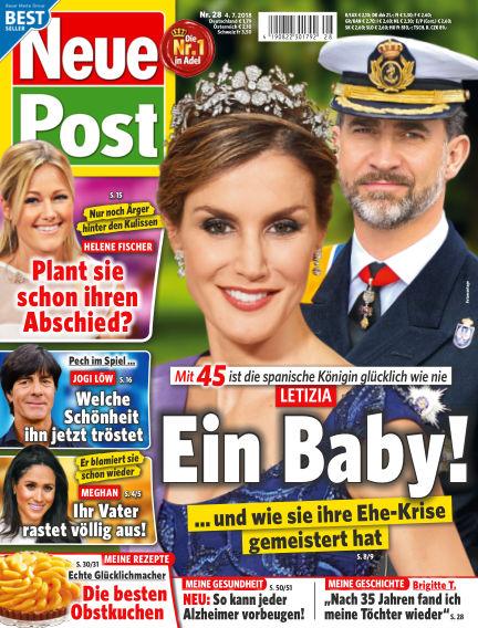 Neue Post July 04, 2018 00:00