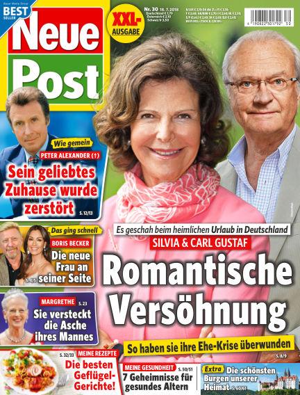 Neue Post July 18, 2018 00:00
