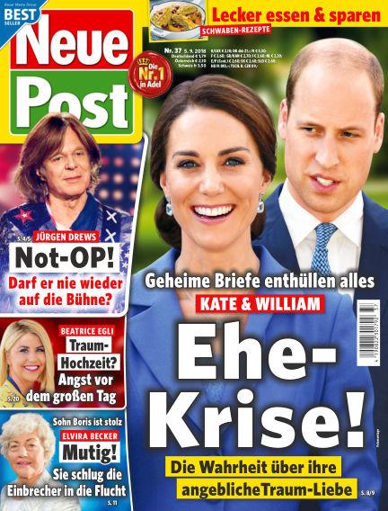 Neue Post September 05, 2018 00:00